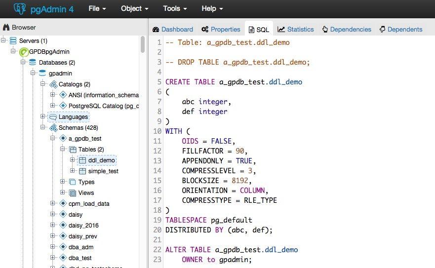 SQL bases de datos GIS