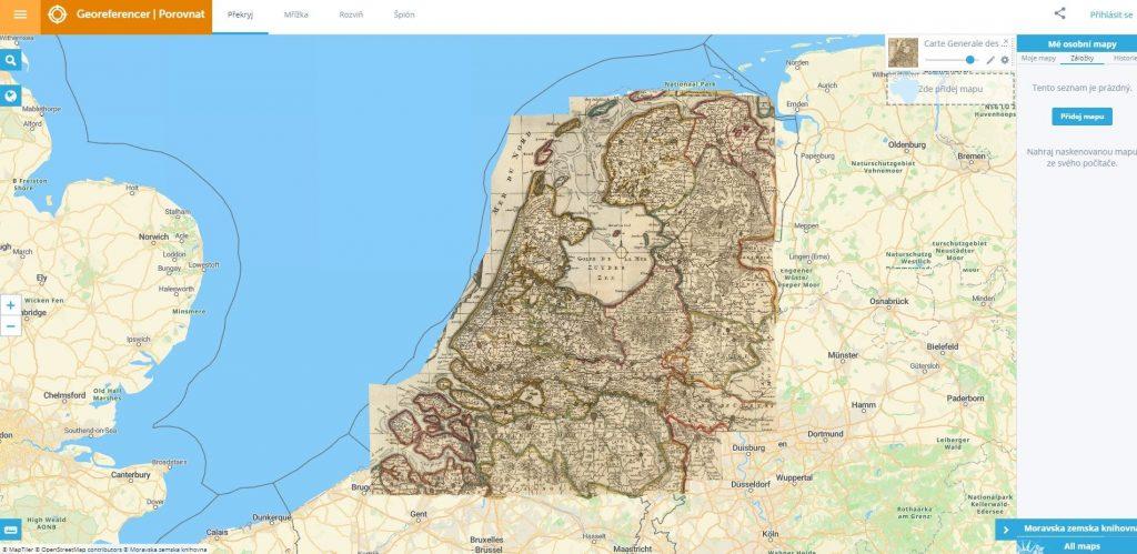 Georeferencer-comparar-cartografia-historica-online