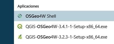Instalación de paquetes de Python para QGIS - geomapik
