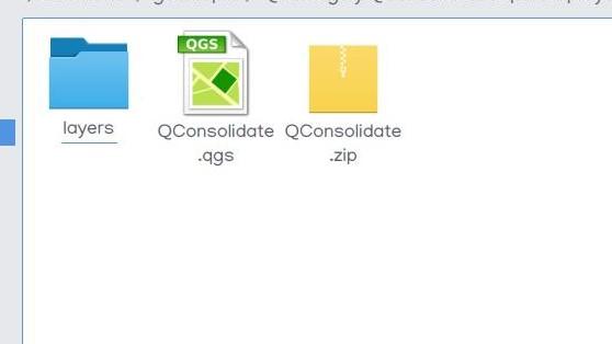 QConsolidate QGIS plugin archivos