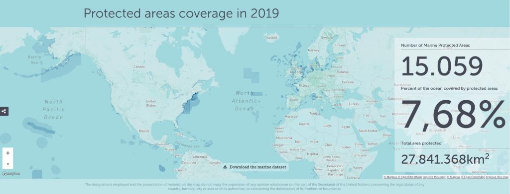 cartografía áreas marinas protegidas