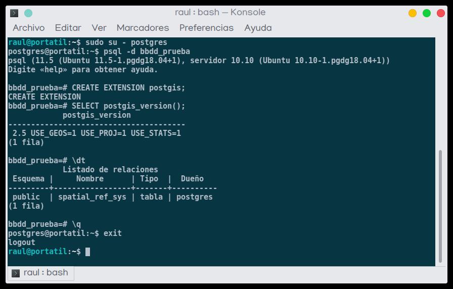 instalar postgis ubuntu