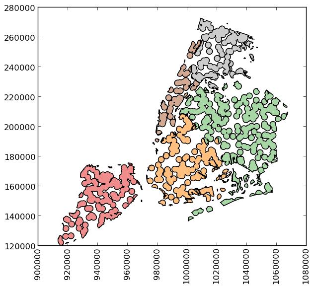 Mapa GeoPandas Python libreria