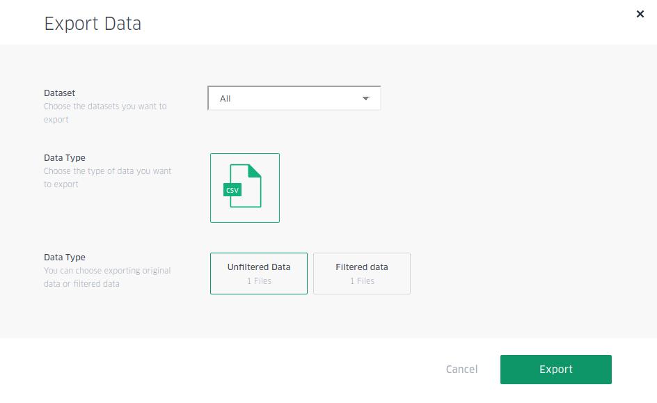export data kepler.gl